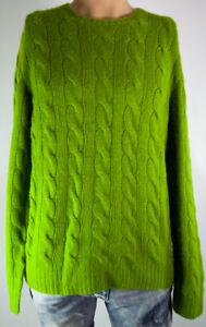 Ralph Lauren Purple Label Cashmere Cable Knit Sweater Men's Large