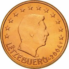 [#580609] Luxemburg, 5 Euro Cent, 2004, UNC-, Copper Plated Steel, KM:77