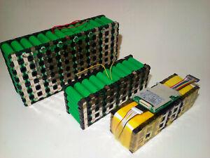 Battery Service 12v 24v 36v 48v 52 E-bike Li-ion Tested Guarantee Genuine Cells