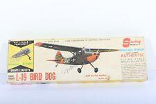 Vintage L-19 Bird Dog Balsa wood Model Aircraft by Sterling Models
