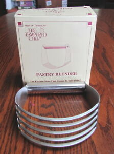 Pampered Chef Pastry Blender Stainless Steel Brand New In Original Box