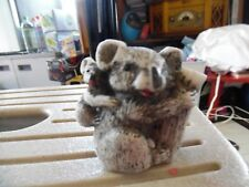 Koala bear mama & baby miniature resin figure