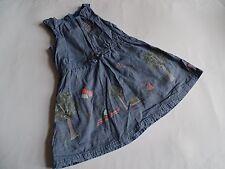 NAME IT Wunderschönes jeansähnliches Sommerkleid Gr.98