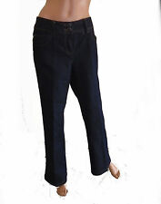Wallis Indigo, Dark wash Bootcut Jeans for Women