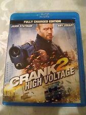 Crank: High Voltage Blu-ray Disc 2009 2-Disc Set Jason Statham Amy smart
