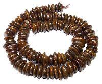 😏 Bronzit Perlen Lamellen ca. 8-12 x 2-4 mm Edelsteinperlen Strang für Kette 😉