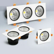 Panel Light Square Dimmable Led Downlight Lamp Cob Spot Ceiling Recessed