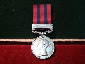 1854 India General Service medal - Burma 1885 - 87 . 957 Pte J. Shuker 2nd