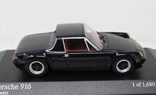 1/43 Minichamps 1971 Porsche 916 black Limited Edition 400066060