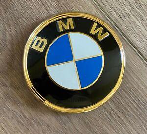BMW Badge Logo Emblem Gold Rear Trunk 9838 5114 1872328