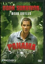 BORN SURVIVOR; BEAR GRYLLS - 3 DVD SET - PANAMA. SAHARA & PATAGONIA
