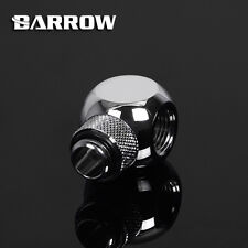 "Barrow G1/4"" Silver Rotary Cuboid T (3 way) Fitting Adapter - 155"
