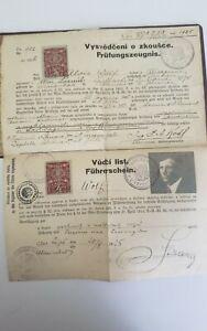 Führerschein und Prüfungszeugnis 1925