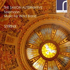 CLASSICAL V.A.-THE SAXON ALTERNATIVE: TELEMANN MUSIC FOR WIND BAND-JAPAN CD F56