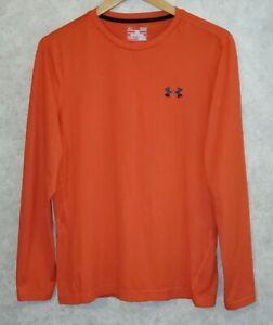 UNDER ARMOUR  HeatGear  Athletic Long Sleeve  Shirt Men's  Sz S / Small