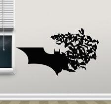 Batman Logo Wall Decal Bat Comics Superheroes Vinyl Sticker Art Decor Mural 4zzz