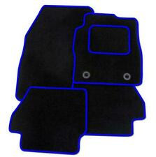 FORD FIESTA ST 2011-2017 - CARPET TAILORED CAR FLOOR BLACK MATS BLUE EDGING