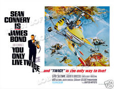 YOU ONLY LIVE TWICE LOBBY CARD POSTER  BQ-B 1967 JAMES BOND 007 SEAN CONNERY