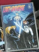 1 DVD ANIME SHIN VISION MANGA SPACE FANTASY-LOST UNIVERSE 5 slayers,nadesico,try