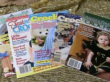 5 Crochet Baby & other~pattern booklets~Annie'S~Crochet Digest~Fast & Fun