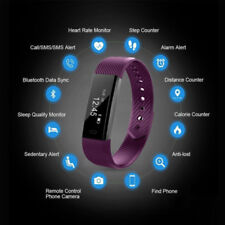 Smart Bracelet ID115 Watch Wrist Fitness Tracker For iPhone Android Waterproof