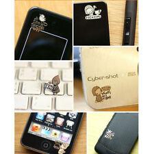 50PCS Korea Cartoon Gold-plated Anti-radiation Mobile Camera Cell Phone Stickers