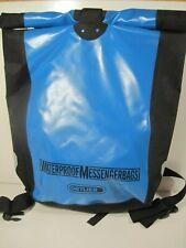 NWT Ortlieb Bike Courier Messenger Bag Kuriertasche, Blue/Black, Waterproof, 30L