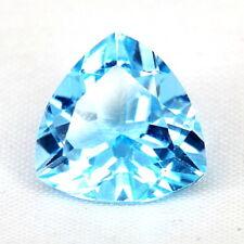 TOP TOPAZ : 8,52 Ct Natürlicher Blau Topas aus Brasilien
