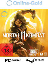 Mortal Kombat 11 - Steam Digital Code PC Action Game Key - [DE/EU] - USK Ab 18