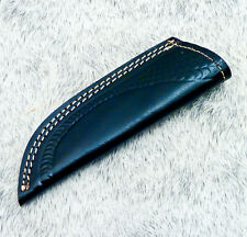 -Leather Sheath For Fixed Blade Knife For 7.0 Inch Knife Black Leather WD-3078