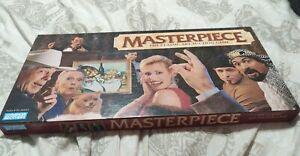 Masterpiece The Art Auction board Game Vintage 1996 Original Box Complete