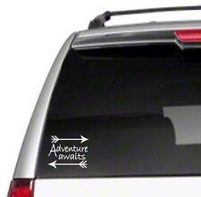 """Adventure Awaits Arrows 6"""" Car Vinyl Sticker Decal hippie vintage spirit *G13*"""