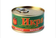 Russian best quality salmon red caviar can easily open 140 g (4.94 oz.)