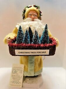 """GERMAN-STYLE~SANTA CANDY CONTAINER """"RARE"""" COLOR COAT: OOAK: Jean T Littlejohn"""