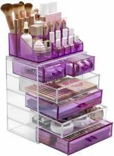 Sorbus Acrylic Cosmetic Makeup and Jewelry Storage Case Display - Spacious Desig