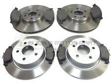 FORD KUGA 2.0 TDCi 2013-2017 FRONT & REAR BRAKE DISCS & PADS MANUAL HANDBRAKE