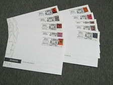 SET OF 10 Quilts of Gee's Bend 2006 FIRST DAY COVERS Ceremony Program ENVELOPES