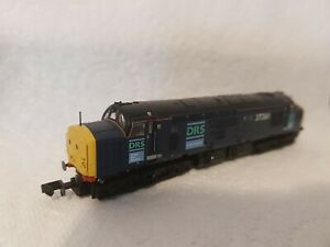 N Gauge Farish Class 37 No.37261 in DRS  livery  ..DCC SOUND.