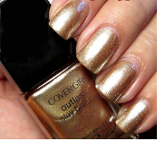 CoverGirl Outlast Stay Brilliant Nail Gloss Polish GOLDEN OPPORTUNITY Gold .37oz