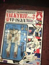 Banpresto Perfect Transformation Valkyrie Part2 Vf-1S/J/A Macross 20th Robotech