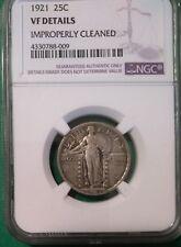 1921 Standing Liberty Quarter VF Details Coin