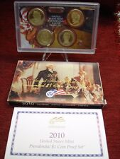 2010 U.S. PRESIDENTIAL $1 COIN PROOF SET - NICELY DONE!