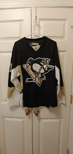 Men NHL CCM Pittsburgh Penguins Evgeni Malkin #71 250 Patch Jersey Size 48