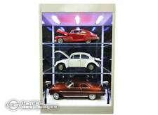 Vitrine  blanche Display Case White with LED Light with 2 shelves 1/6