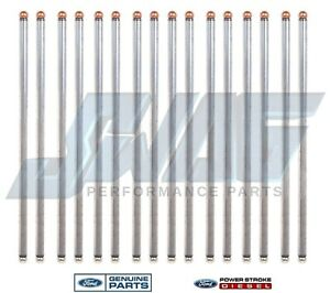6.0/6.4 Powerstroke Diesel OEM Genuine Ford Updated Push Rod Set F250 F350 F450