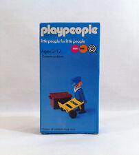Nuevo 1974 Vintage playpeople ✧ Porter ✧ Ferrocarril Marx Toys Playmobil #1739