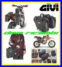 Borsa laterali GIVI GRT708 15+15 waterproof universali Moto Adventure Enduro Off