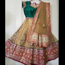 indian wedding bridal lengha Indian Women Choli Lehenga Party dress Wedding Dres