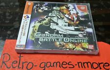 Gundam Battle Online, SEGA Dreamcast NTSC-J, Japan, Actual pic Authentic Sealed