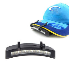 Fashion 11 LED Clip-On Cap Light Lamp Cycling Hiking Camping Cap Night Fishing